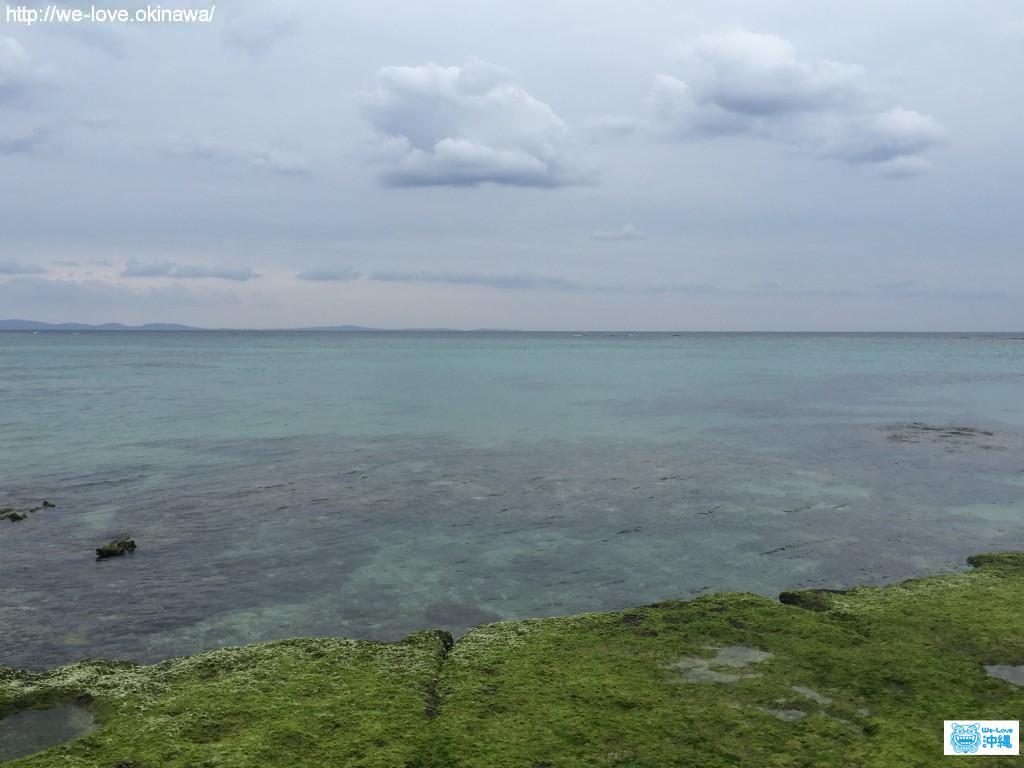 ニャティア洞付近の海