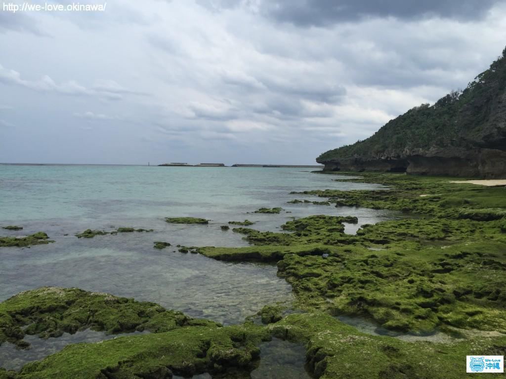 ニャティア洞付近の綺麗な海