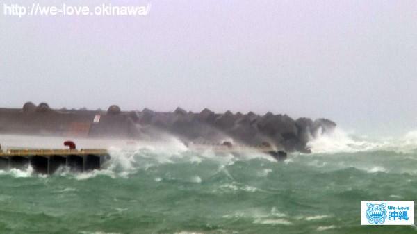 台風 高波