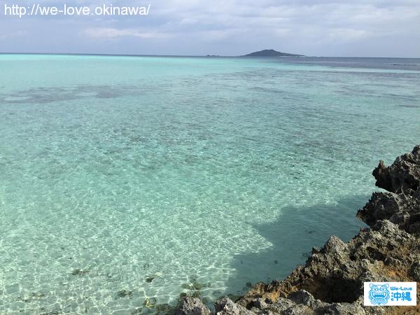 宮古島の綺麗な海