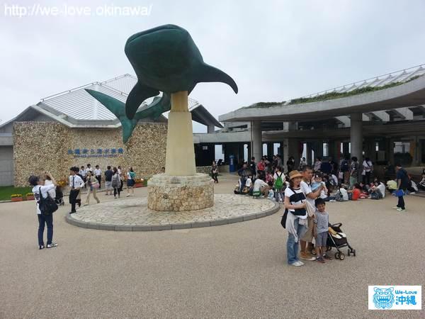 美ら海水族館入口