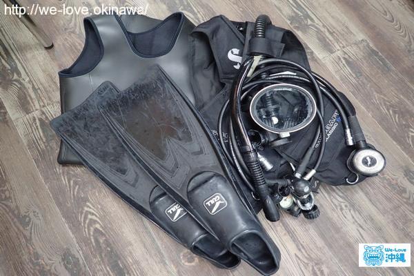 潜水機材-2
