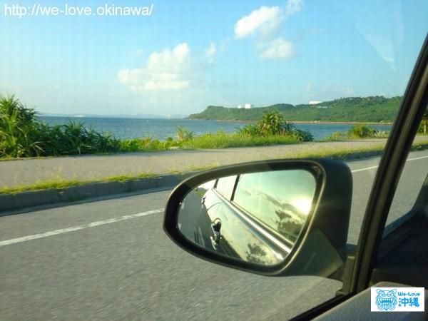 車からの眺め