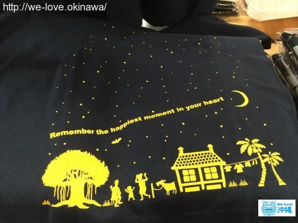 夜空Tシャツ