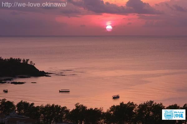 kariyushibeach-sunset
