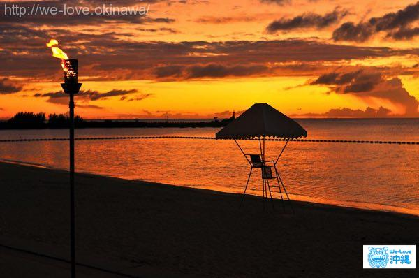 rizzanseapark-sunset