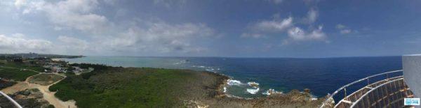 残波岬灯台絶景パノラマ
