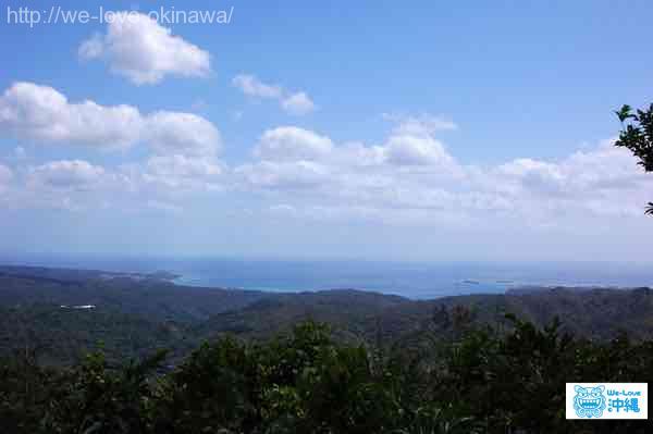 名護岳山頂景色