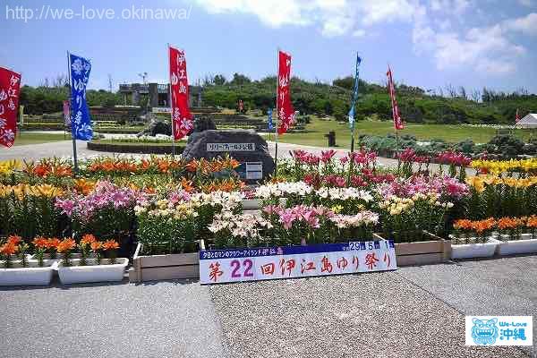 伊江島ゆり祭り