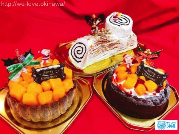 マンゴークリスマスケーキ