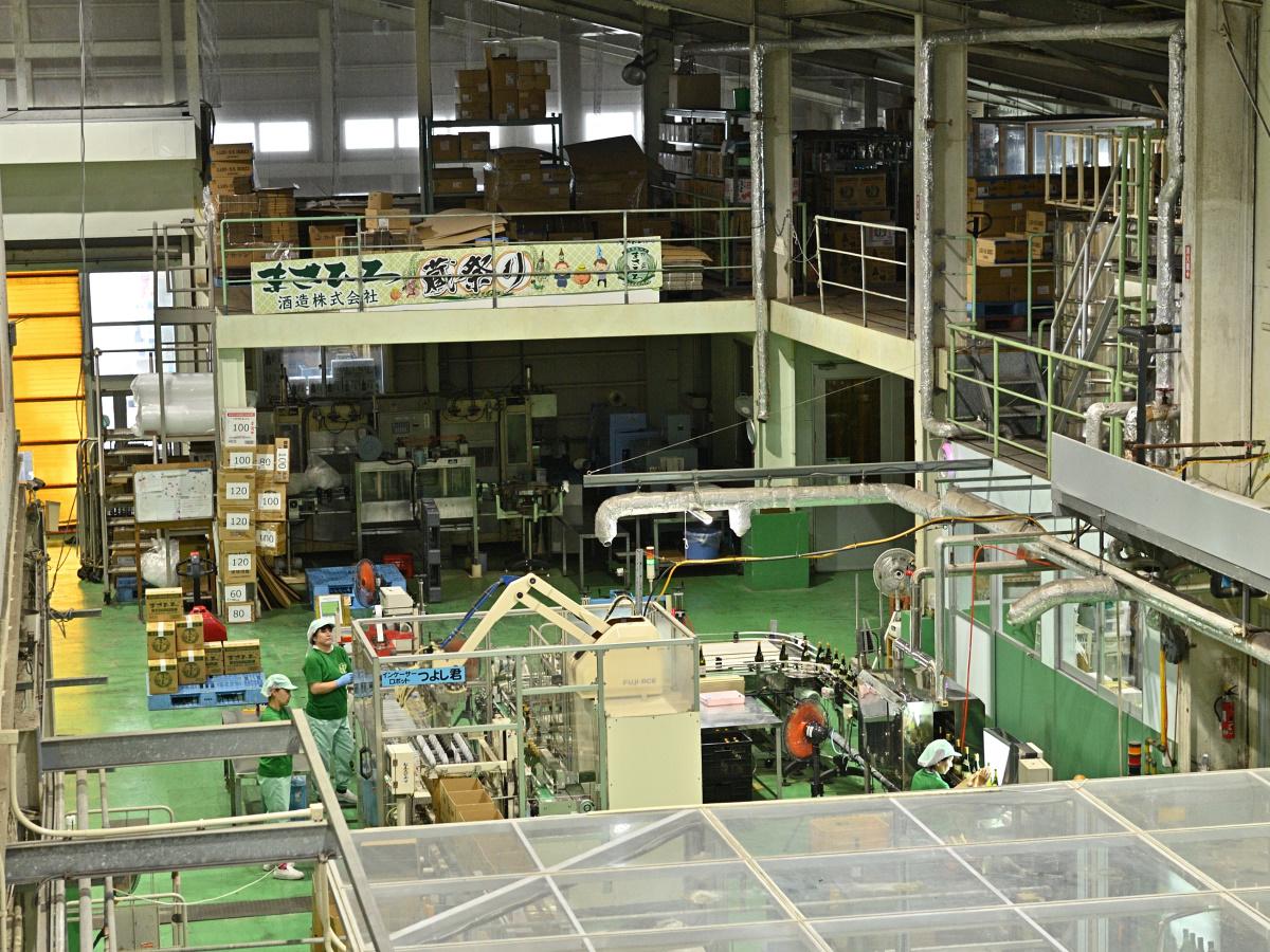 まさひろギャラリー工場見学・つよし君