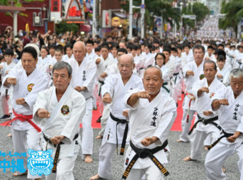 2019空手の日記念演武祭_1_約2100人参加