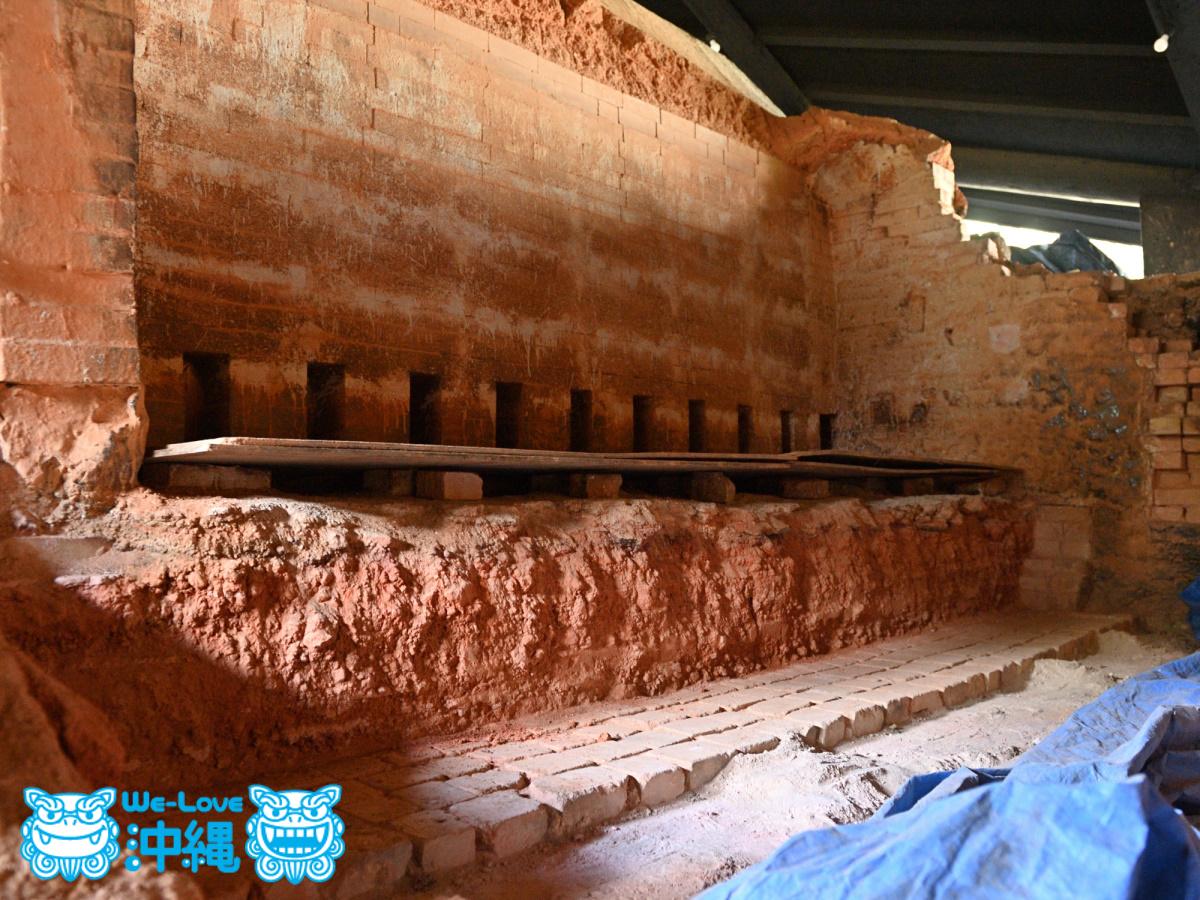 北窯基礎作り_34_5番と6番の窯内部