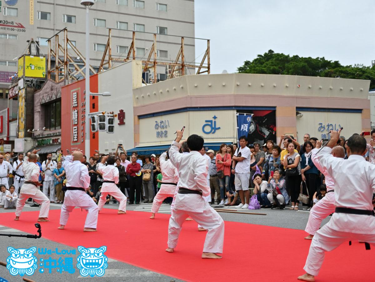 2019空手の日記念演武祭、各団体演武