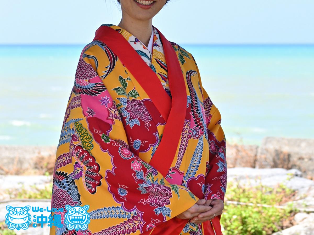 琉球衣装着付け体験