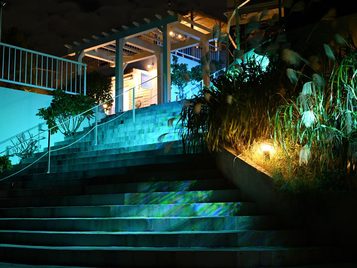 2019Senaga Starry Night 陽が沈む島の星物語イルミネーション