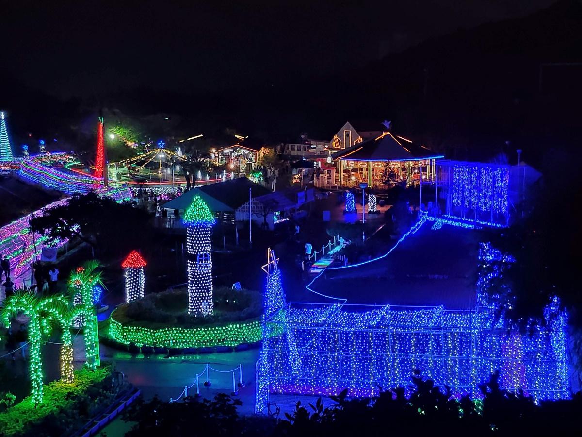2019沖縄子供の国クリスマスファンタジーイルミネーション