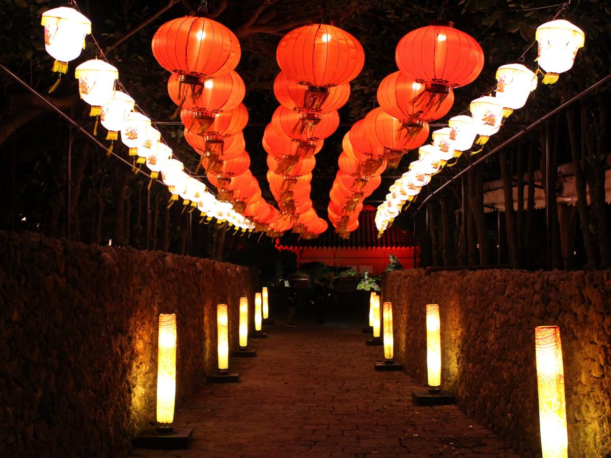 2019体験王国村むら咲むら琉球ランタンフェスティバル