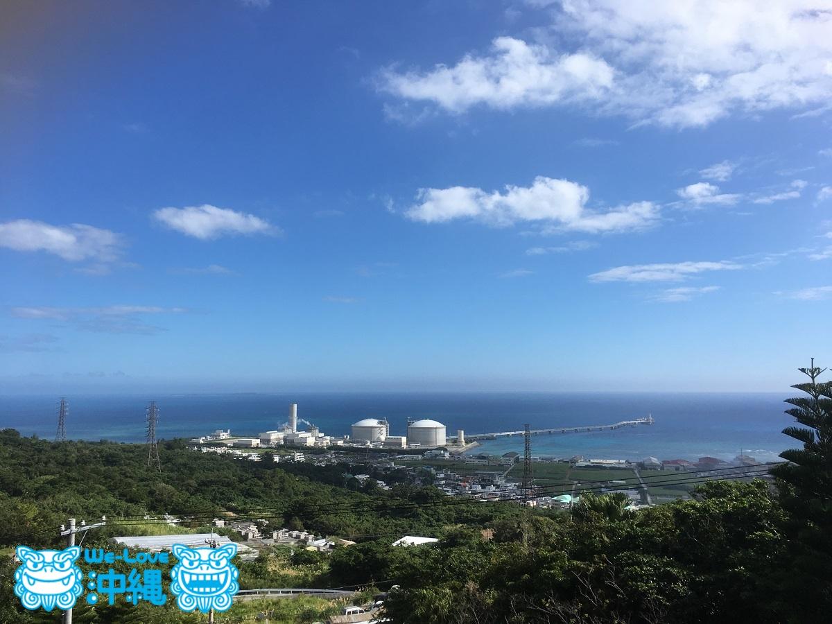 沖縄、成田山福泉寺からの景色