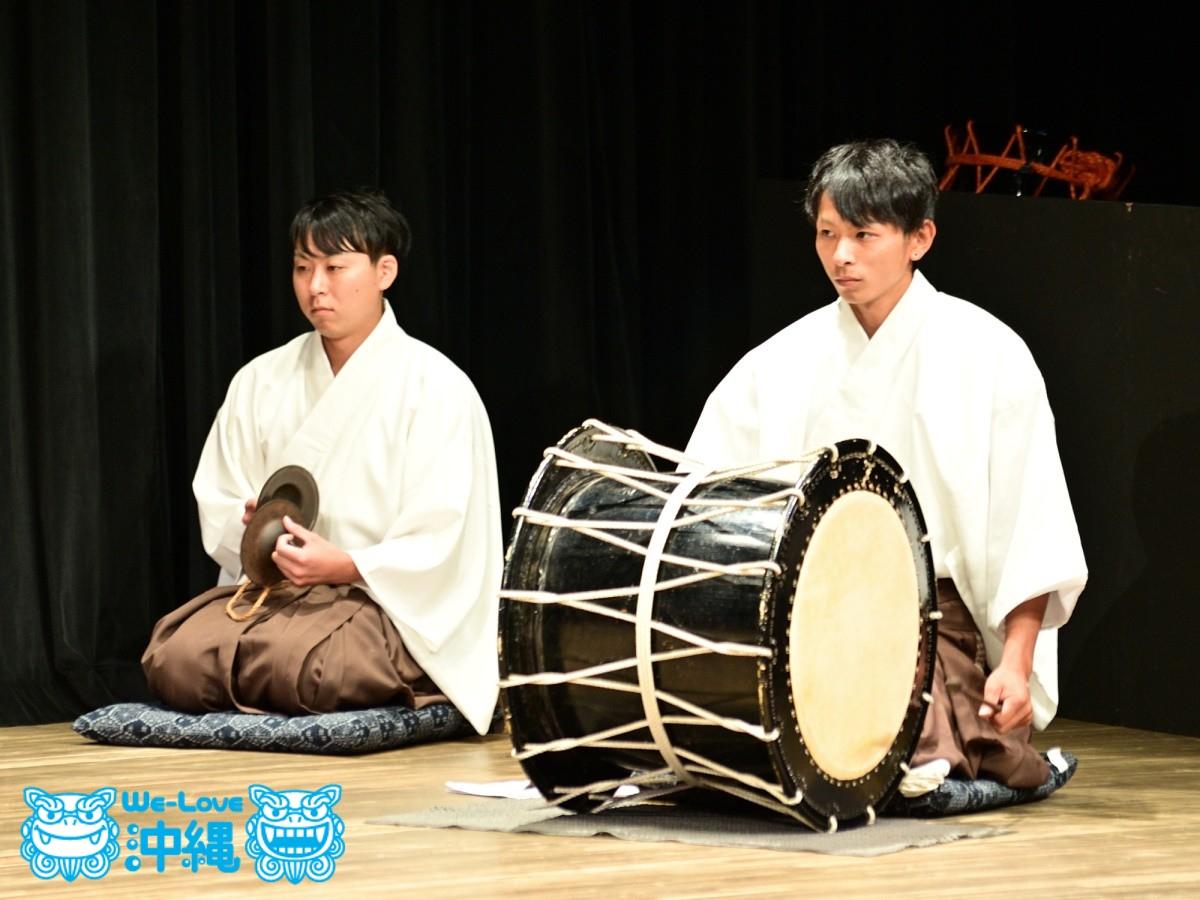 神楽と組踊、北の魂・南の魂、神楽 翁舞(おきなまい)