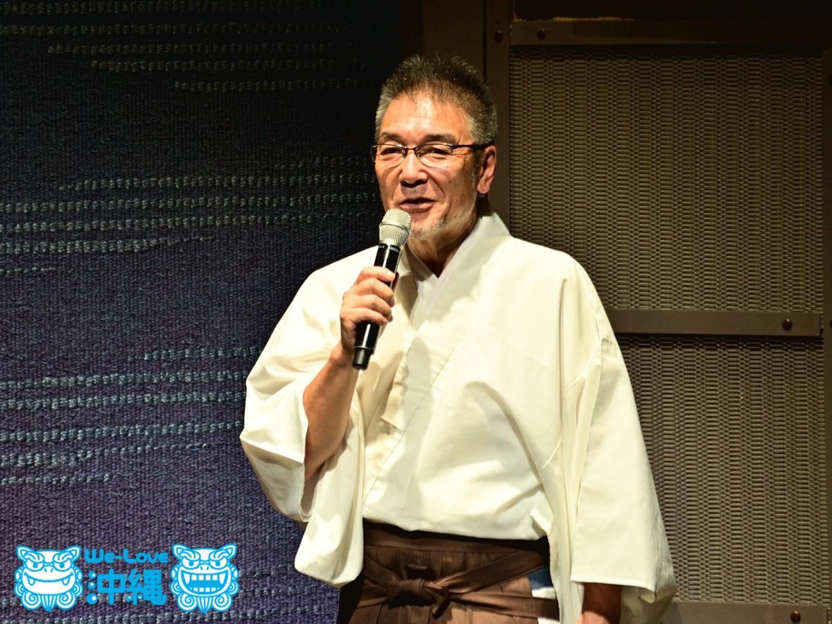 上根子神楽保存会幹事・北山公路(きたやまこうじ)さん