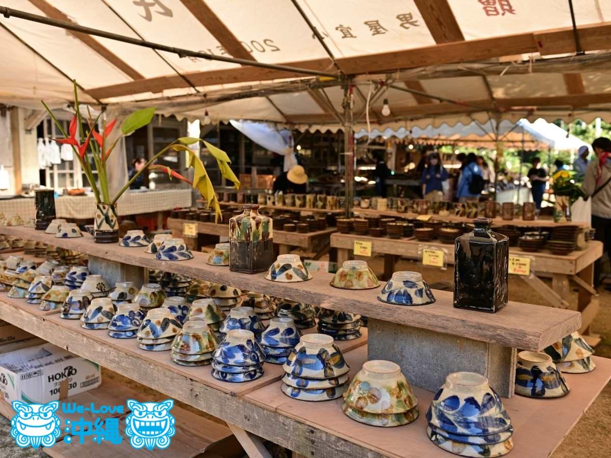 陶器市の様子