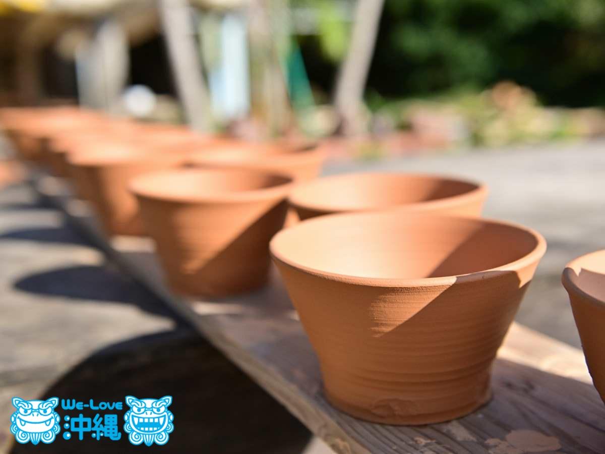 北窯特製の陶土(とうど)の色