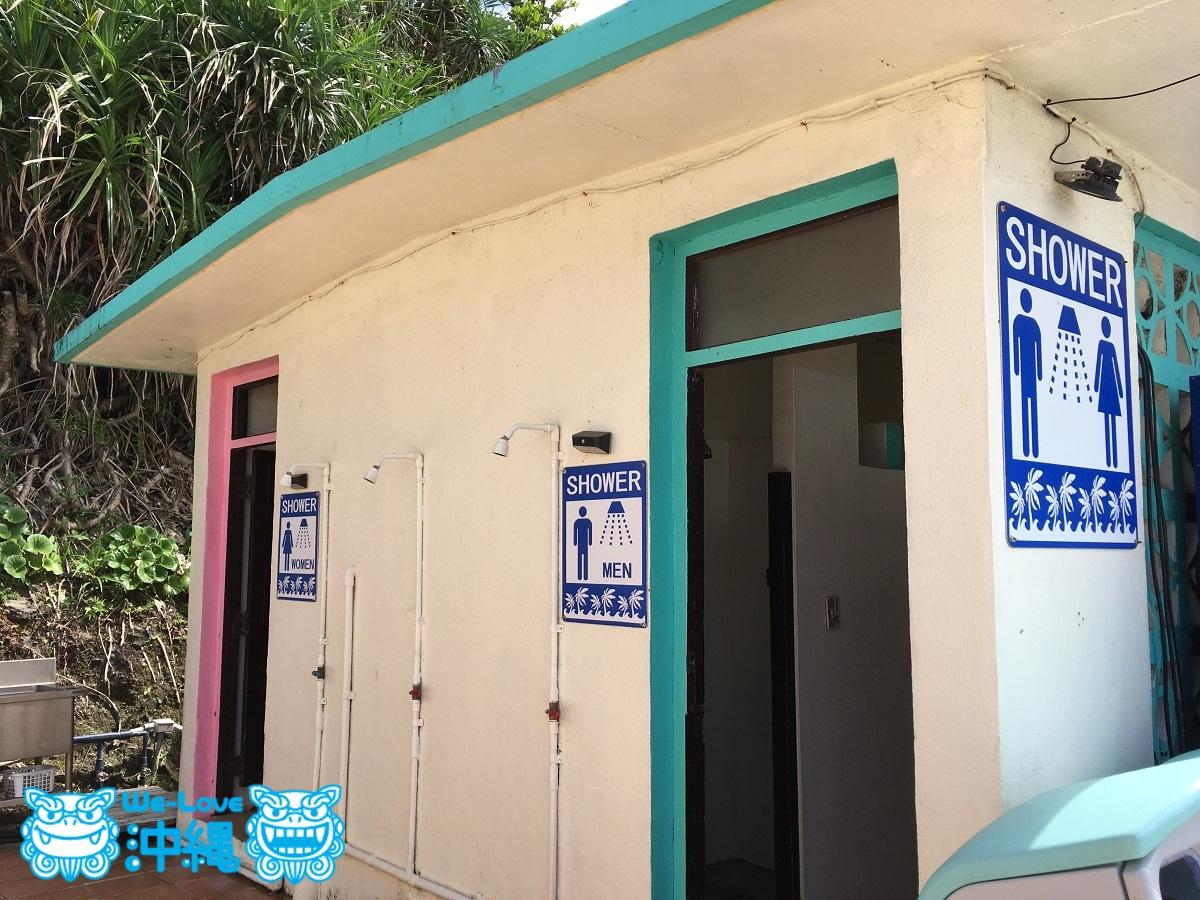 ミッションビーチシャワー室