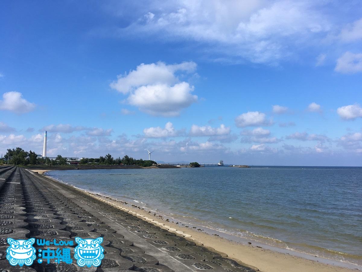 具志川ビーチ