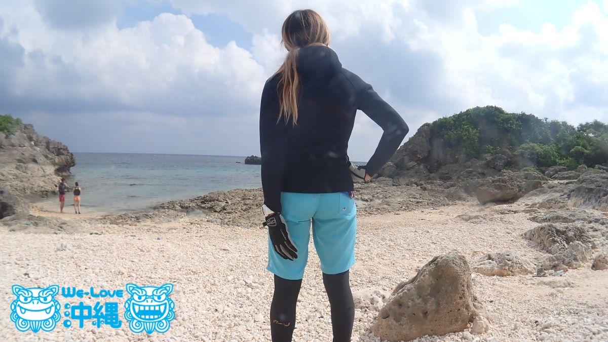 海遊びの服装