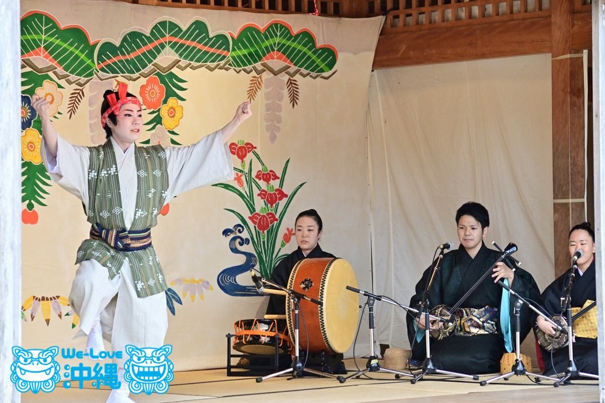 琉球芸能の宴 鳩間節